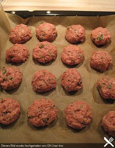 Oven meatballs The post Oven meatballs appeared first on Food Monster. Hamburger Meat Recipes, Meatball Recipes, Sausage Recipes, Burger Recipes, Grilling Recipes, Mexican Food Recipes, Beef Recipes, Easy Homemade Burgers, Caviar Recipes