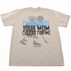 5bedd4523cdae 149 Best Hockey: T-Shirts images in 2019 | Hockey, Hockey mom, Ice ...