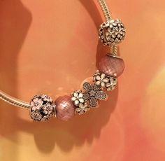 Cute Pandora 2015 spring bracelet