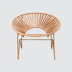 Aldama Chair - Copper & Natural – The Citizenry