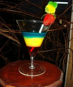 Spring Colours   Virgin Cocktails!