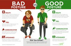 A poor posture is a toxic habit that you should get rid of