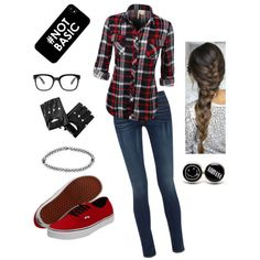 Untitled #215 by breautrey on Polyvore featuring polyvore fashion style rag & bone Vans Boohoo Forever 21