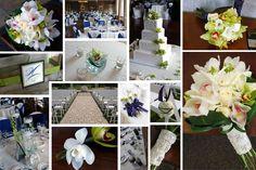 navy and green wedding : kio kreations