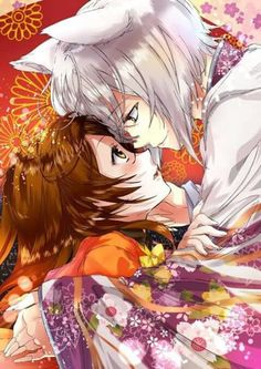 Tomoe & Nanami Such a cute couple, luv the anime and manga series