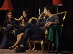 The Vampire Diaries Cast on Ian Somerhalder's Hotness at Bloodlines