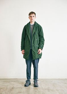 Coat is very nice, great color combo. Piece Of Clothing, Mens Clothing Styles, Ss16, Urban Fashion, Mens Fashion, Men's Fashion Brands, Summer Lookbook, Men's Wardrobe, Men Street