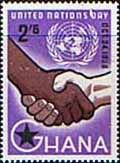 Ghana 1958 United Nations Day Set    Fine Mint    SG 203 Scott 38    Condition  Fine MNHOnly one post charge applied on multipul purchases    Details
