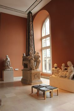 In Museums - The Grand Louvre - France..