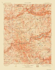 Historical Topographic Maps YOSEMITE QUAD CALIFORNIA (CA) USGS 1911 in Maps