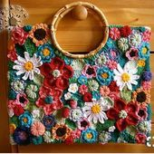 Cotton top for women - free knitting instructionsCotton top for women - stricken-haekeln.deA free guide to embroidering eyelets with the embroidery machine.A free guide to embroidering eyelets with the embroidery machine. Bag Crochet, Freeform Crochet, Crochet Handbags, Crochet Purses, Crochet Clothes, Crochet Blouse, Diy Crochet Patterns, Crochet Crafts, Crochet Stitches