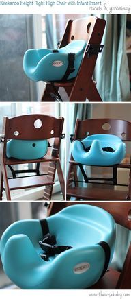 Keekaroo High Chair With Infant Insert Review U0026 Giveaway!