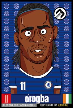drogba-illustration by sunhouse
