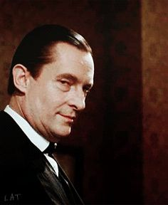 Sherlock can see you, and John is laughing. Jeremy Brett.
