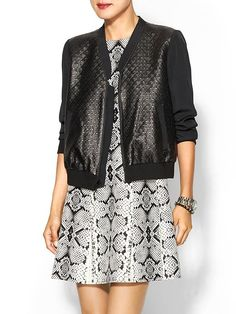Tibi Diamond Quilted Bomber -- 30% off at Piperlime with code FALL.  Offer expires 10/18.