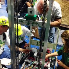 Sierra's FIRST in our hearts and FIRST to pass robot inspection #allthepuns #omgrobots by gatorbotics1700