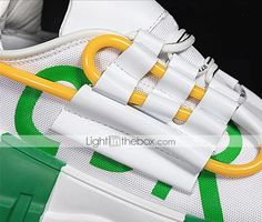Men's Trainers Athletic Shoes Casual Daily Walking Shoes Mesh Black / White White / Green Black Spring & Summer Fall & Winter 2021 - US $36.74 Casual Sneakers, Casual Shoes, Sneakers Nike, Autumn Summer, Fall Winter, Mens Shoes Online, Daily Walk, Mens Trainers, Walking Shoes