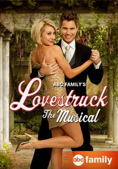 Lovestruck: The Musical. When he daughter says she won't return to the stage after her wedding, Harper sets out to sabotage the wedding, with the help of a magical potion that makes her young again. I put this on for background noise as I crocheted, but it wasn't too terrible. Kinda of cute. A cliche ABC family movie.
