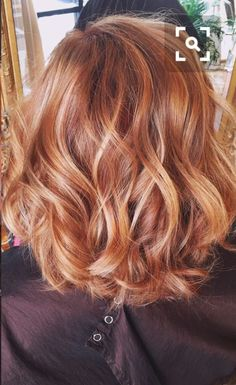 Hair color red copper highlights strawberry blonde Ideas - Aren't not Red Hair With Blonde Highlights, Blonde Curly Hair, Ombré Hair, Brown Blonde Hair, Copper Blonde Hair, Strawberry Blonde Highlights, Strawberry Red Hair, Copper Hair Highlights, Blonde Hair With Copper Lowlights