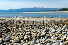 Boulder Beach of Milnthorpe Quay, Collingwood, Golden Bay, NZ royalty-free stock photo