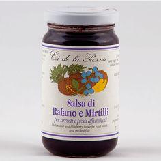 Salsa di rafano e mirtilli. Scopri e prova tutte le altre salse su: www.demarca.it