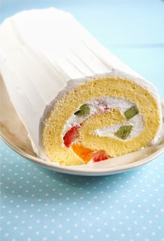 Fruity Cake Roll
