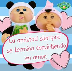 La amistad siempre se convierte en amor. #cabbagepatch #cabbagepatchkids #sketchers #muñeca #niñas #abrazo #palaciodehierro #liverpool #comercialmexicana #walmart #soriana #sears #chedraui #coppel #juguetron #HEB #cuties
