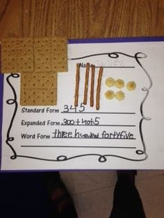 Place Value Snacks