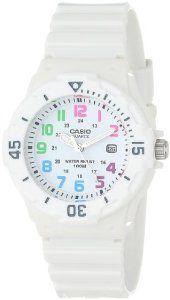 "Casio Women's LRW200H-7BVCF ""Diver Look"" White Resin and Plastic Watch: Wedding gift"