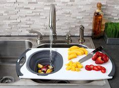 Kitchen Tools, Kitchen Gadgets, New Kitchen, Best Cutting Board, Sink Strainer, Angel Hair, Dish Racks, Hot Pot, Cereal Bowls