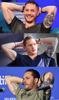 "tom hardy variations — About some of Tom's ink: … ""Every tattoo I have..."