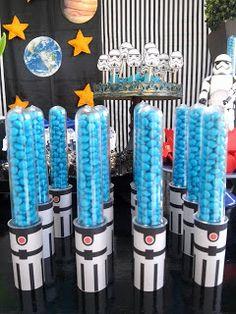 Balão de Papel: Festa Star Wars