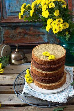 Bizcocho básico para tartas - Megasilvita