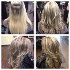 From Brassy Blonde To Gorgeous Cool Highlights Hair In