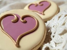 Fancy cookies make cute favors for the wedding, but can get expensive if you have a large guest list. But if you really want to incorporate them in your wedding, the bridal shower is a good place to use them. - Or an engagement party.
