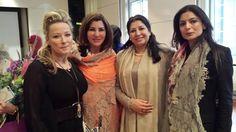 Baroness Manzoor , Rhea Elliott-Jones , Rubina Singh Kapoor and Selwa Al Qazwini Wearing Shawl from RK Collection.