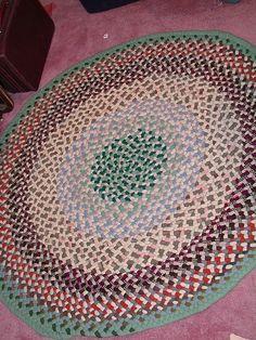 husbands rug ( I made it for him)