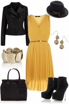 "Outfit ""Pretty pleats"" by Deborah on Fantasy Shopper"