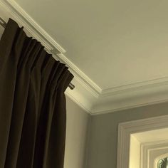 Also known as coving, cove molding is plain, concave-shaped trim employed where walls and ceilings meet. It can also be used on stairs, at the meeting of risers and treads. In essence, cove may be considered a less ornate version of crown.