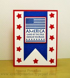 Stamp of the Week ~ Land of the Free » The House That Stamps Built