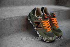 Soldes A Rabais Incroyable Femme/Homme New Balance ML574CGR Femme/Homme  Military Camo Pack Armee Vert Noir Orange France Discount
