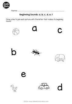 free preschool phonics worksheet on beginning sounds for letters k l m n o for preschool or. Black Bedroom Furniture Sets. Home Design Ideas