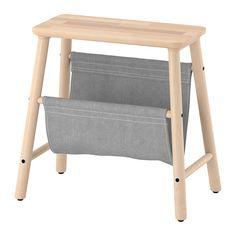 IKEA - VILTO, Stolička s úložným prostorem, , Bříza má pěknou kresbu a světlé dřevo, která časem přirozeně tmavne. Časté jsou suky v krémové či světle hnědé barvě. Bříza má svůj jedinečný vzhled, který se promítá i do nábytku.