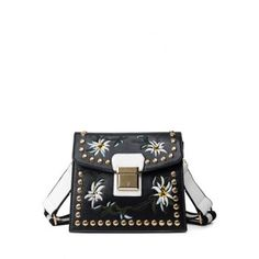 SHARE & Get it FREE | Rivet Floral Embroidery Crossbody BagFor Fashion Lovers only:80,000+ Items·FREE SHIPPING Join Dresslily: Get YOUR $50 NOW!