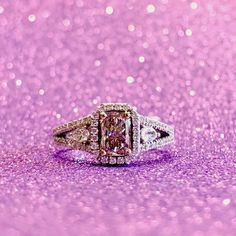 On Wednesday's we wear pink diamonds! Pink Diamonds, Gold Engagement Rings, We Wear, Wednesday, Gold Rings, White Gold, Rose Gold, Instagram, Jewelry