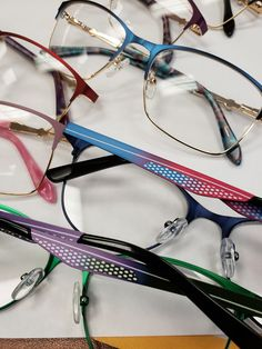 colored frames in blue , burgundy , pink , black and purple very classy stylish frames new today Pink Black, Purple, Blue, New Today, Eyeglasses, String Bikinis, Frames, Burgundy, Classy