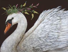 Swan by Vicki Sawyers