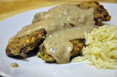 OMG this was the best venison recipe ever! This is my BEST recipe for chicken fried venison. Also the nutmeg in gravy was the bomb! Elk Recipes, Cube Steak Recipes, Great Recipes, Cooking Recipes, Game Recipes, Cooking Games, Deer Steak Recipes, Favorite Recipes, Cooking Tips