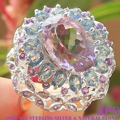 "Amethyst ranges in color from pale lilac to deep purple. The pale colors are sometimes called ""Rose de France"" and can be seen set in Victorian jewelry. The deep colors are the most valuable, particularly a rich purple with rose flashes."