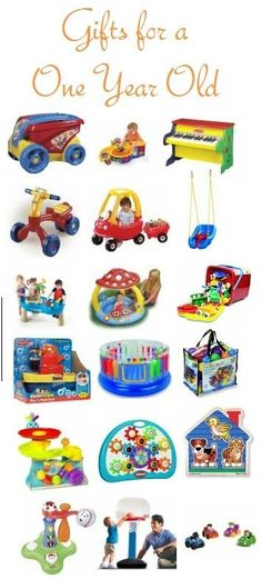 Gifts for a One Year Old by angelia